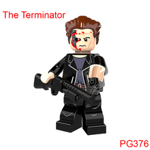 Single Sale Building Blocks The Terminator Super Heroes Star Wars Mini Bricks Dolls Kids Diy Toys