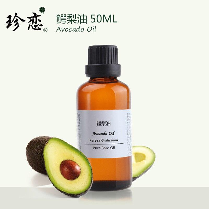 50 ml aceite de prensado en frío Bases aceite Cuidado DE LA PIEL aceite de aguacate Cuerpo masaje piel facial hidratante reafirmante belleza natural