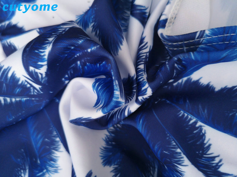Mother Daughter Father Son Swimsuits Blue Family Look Mom And Daugher Daddy Parent Child Bikini Bathing Swimwear Summer Clothes (41)