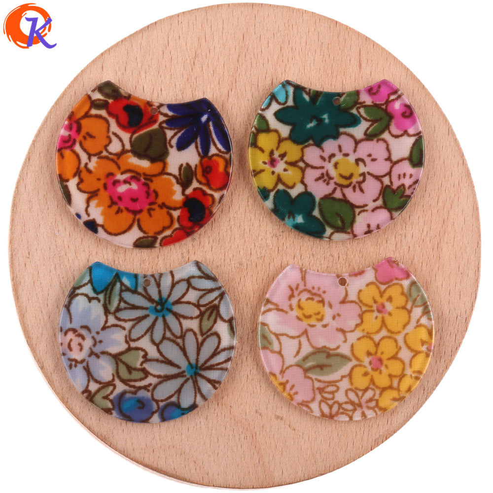 Cordial Design 100Pcs 33*36mm Jewelry Accessories/Hand Made/DIY Parts/Round Shape/Earrings Making/Jewelry Findings Components
