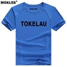 TOKELAU ISLANDS t shirt diy free custom made name number tkl T Shirt nation flag country