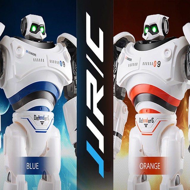 Genuine JJRC R1 Defenders Infrared Control Robot RTR Programmable Movement Missile Shooting Sliding Walking Mode RC Robots Gifts