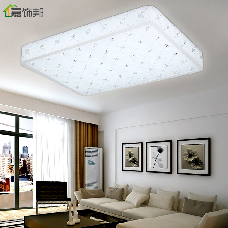 Jia Bang Crystal Ceiling Bedroom Decorated Living Room Lights Modern Minimalist Restaurant Lighting Fittings Led