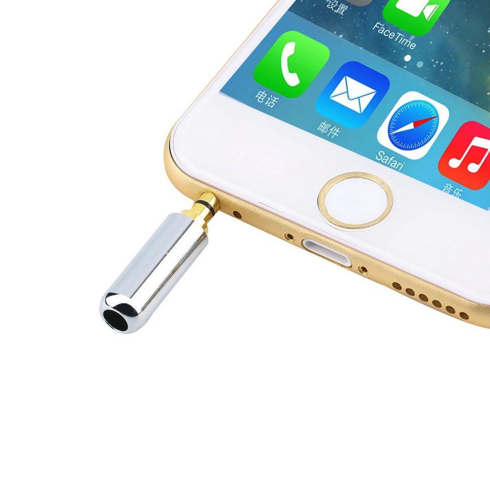 1pcs New 4 Pole 3.5mm Male Repair Headphone Jack Plug Metal Alloy Audio Soldering