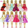 Randomly Pick 5 PCS Wedding Dress Princess Gown Fixed Style Skirt Outfit Clothes For Barbie Doll Accessories Girl Best Gift Toys