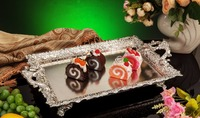 10pcs luxury metal cake plate afternoon tea tray sweet fruit tray wedding birthday and party cake stand