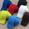 (20 шт./лот) мужские трикотажные галстук/более 20 вид чистого цвета desgin/мальчик моды стиль шеи галстук