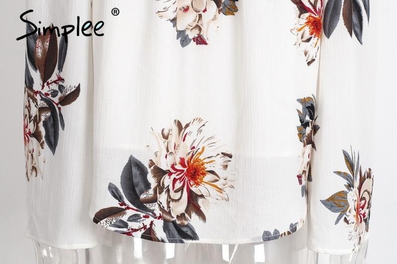 HTB1od.ePXXXXXb4aXXXq6xXFXXXD - Floral print off shoulder chiffon blouse Women tops halter cool
