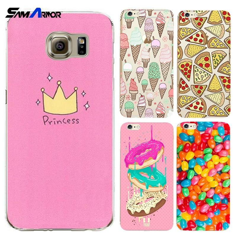 Cute Case Cover For iPhone 7 4 4S 5 5C 5S SE 6 6S Plus X 8 Luxury Cases For xiaomi redmi Note 3 3S 4 4A 4X pro prime