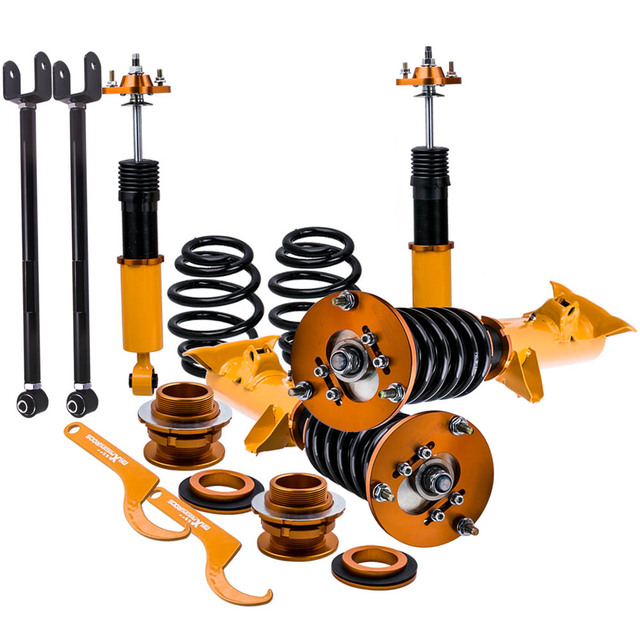CoilOver Shock Absorber Struts for BMW E36 3 Series 318i 318is 318ic 323i 316i 318is 320i 323i 325i 328i M3 90-99 Coilovers arms