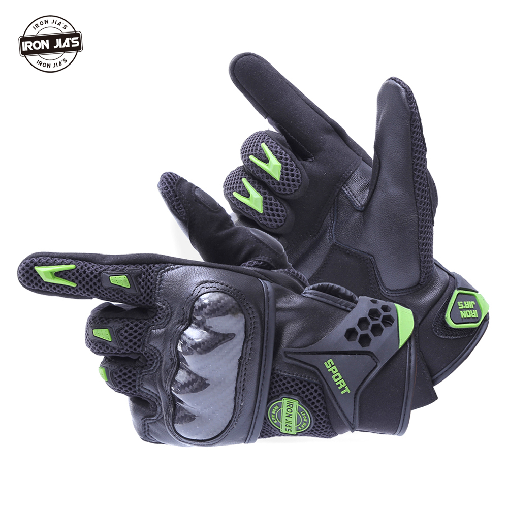 Motorcycle gloves price - Motorcycle Gloves Leather Carbon Fiber Touch Screen Breathable Racing Gloves Guantes Moto Luvas Alpine Motocross Stars