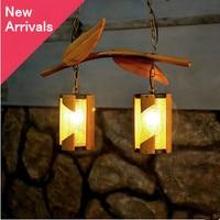 Amerykańska wiejskich indywidualność bambusa żyrandol Southeast Asian stylu romatic ręczna żelaza światła dla studio & pavilion LDK009