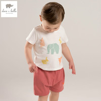 DB5253 dave bella summer baby boys fashion clothing sets kids stylish clothing sets toddle cloth kids sets baby fancy clothes