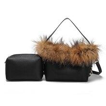 Leather Plush bag Mini diagonal Bag Womens Shoulder Diagonal Women Casual Bags
