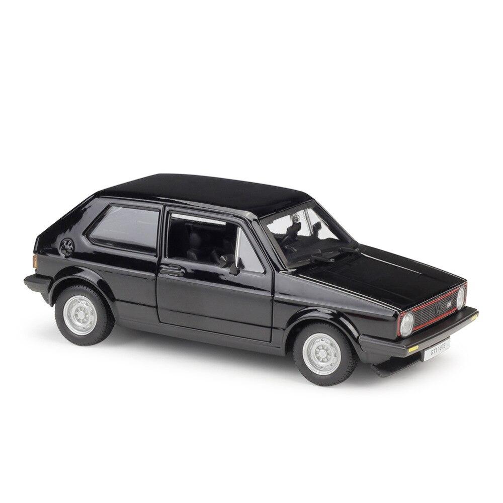 1:24 Bburago VW 1979 Golf Mk1 GTI Diecast Model Car