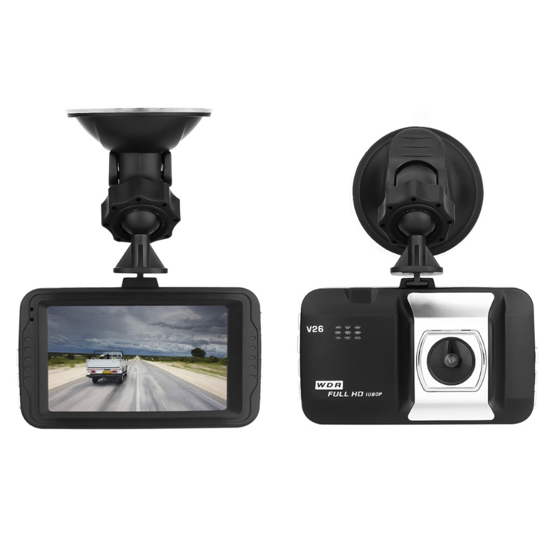 1080P Full HD 1080P Digital Camera 170 Degrees New Angle 3.0 Inch Portable Car DVR Camera T626 DVR Camera Driving Car Detector