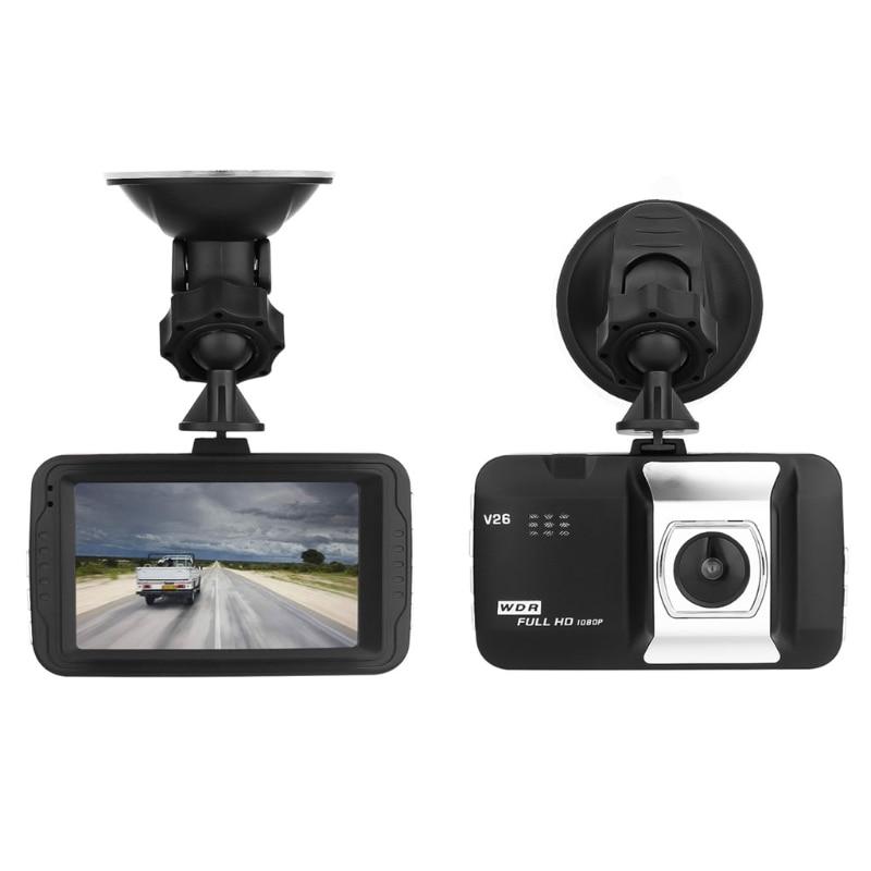 1080P Full HD 1080P Digital Camera 170 Degrees New Angle 3.0 Inch Portable Car DVR Camera T626 DVR Camera Driving Car Detector