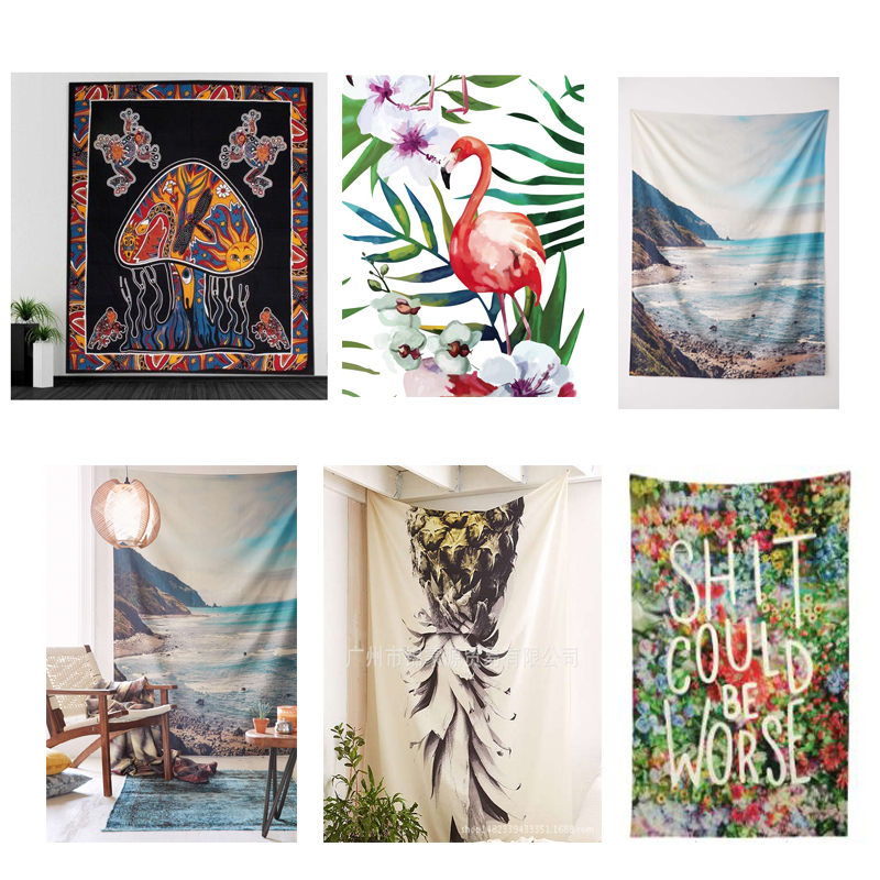 Printing 2019 Tapestry Home Decoration New Wall Environmental Protection Hanging Clothing