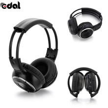 Foldable IR Infrared Headphone Wireless Stereo Car Headphones