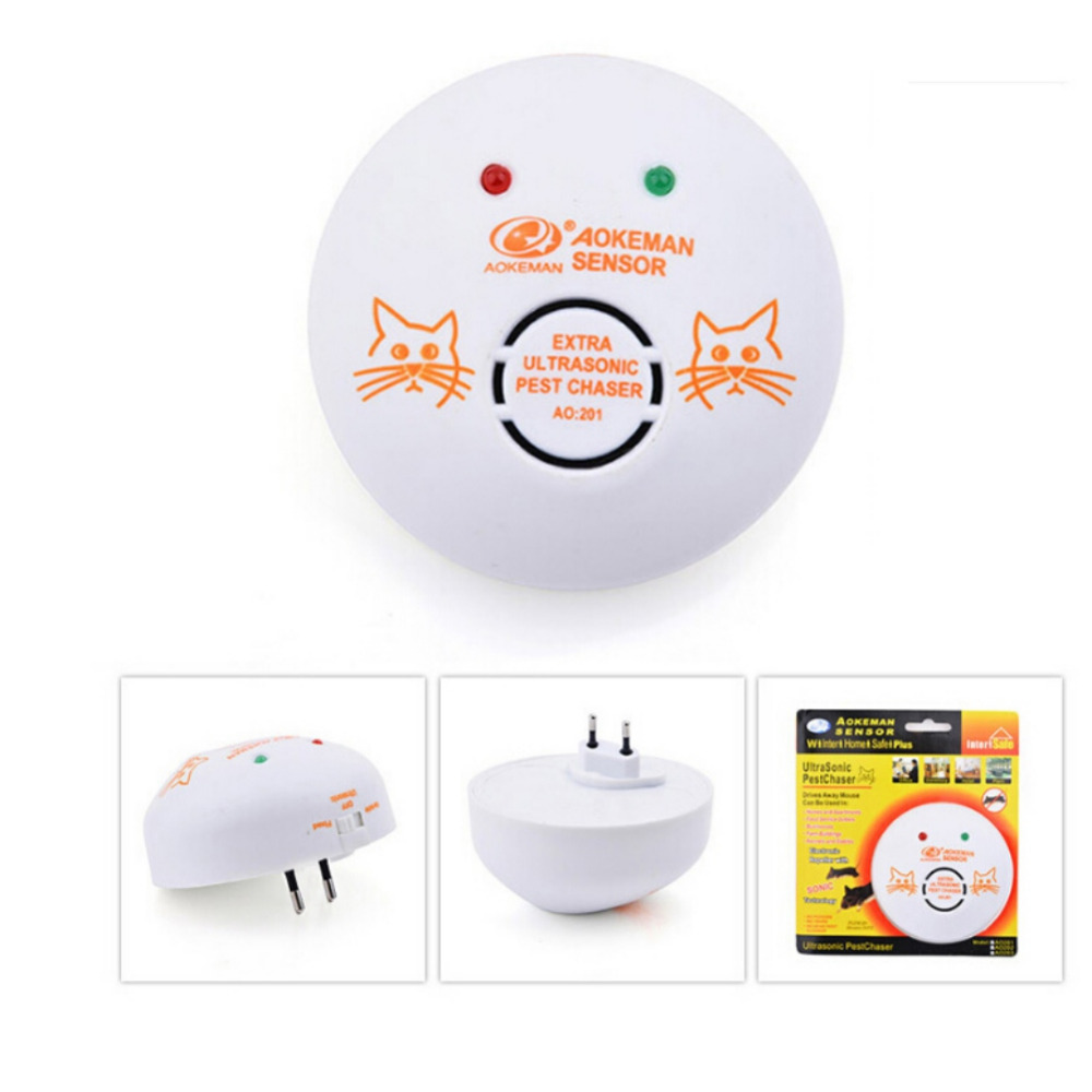 2018 New Mosquito Killer Electronic Multi-Purpose Ultrasonic Pest Repeller Reject Rat Mouse Repellent Anti Rodent Bug Reject Ect
