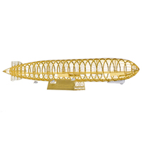 AEROBASE Graf Zeppelin Lz127 1/1000 Metal Stainless Steel Assembly Model Puzzle Souptoys DIY Gifts for boyfriends