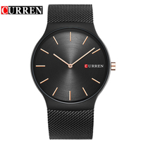 CURREN Gold Relogio Masculino Top Luxury Brand Analog Sports Wristwatch Quartz Business Watch Men Waterproof Montre