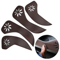 2015 New Arrive 4PCS High Quality PU Car Door Anti kick Protective Sticker decoration For Buick Envision 2015 Sticker Car Modify