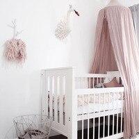 ホット販売吊りドームプレイテントベッドカーテンテント蚊帳赤ちゃんハングteepeesままごと子供ルームの装飾北欧スタイルステッカ