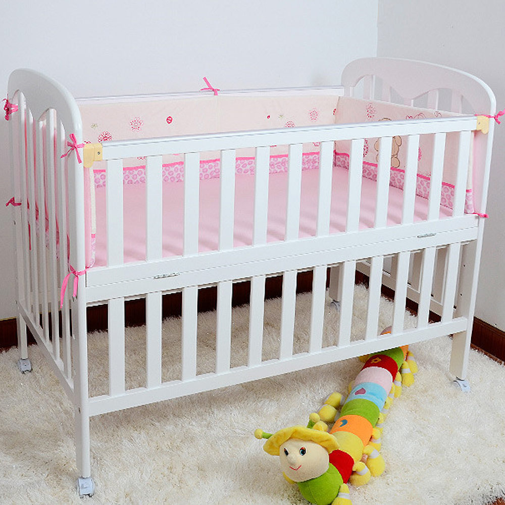 Wooden Baby Bed High Quality 120*65cm Crib For Children Cot For Kids Game Bed With Wheels high quality solid wood children bed lengthen widen baby wooden bed combine big bed child kids baby crib