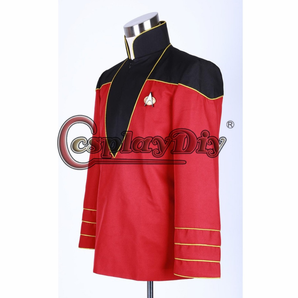 Cosplaydiy Custom Made Star Trek Admiralu0027s Uniform Jacket Costume Adult Men Halloween Carnival Cosplay Costume J5-in Movie u0026 TV costumes from Novelty ...  sc 1 st  AliExpress.com & Cosplaydiy Custom Made Star Trek Admiralu0027s Uniform Jacket Costume ...