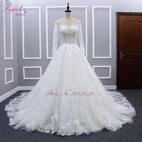 2016 Luxurious Beaded Appliqued Tiered Taffeta Wedding Dress Vintage Strapless Ball Gown Ruffled Royal Train Wedding