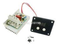 AC 220V 10000W SCR Voltage Regulator Speed Controller Dimming Dimmers Thermostat Digital Display