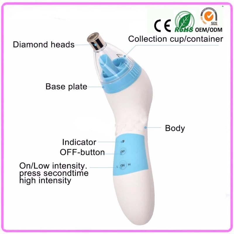 ФОТО Portable Microdermabrasion Peeling System Beauty Skin Care Spa Face Lift Tighten Acne Blackhead Removal Enhance Skin Elasticity