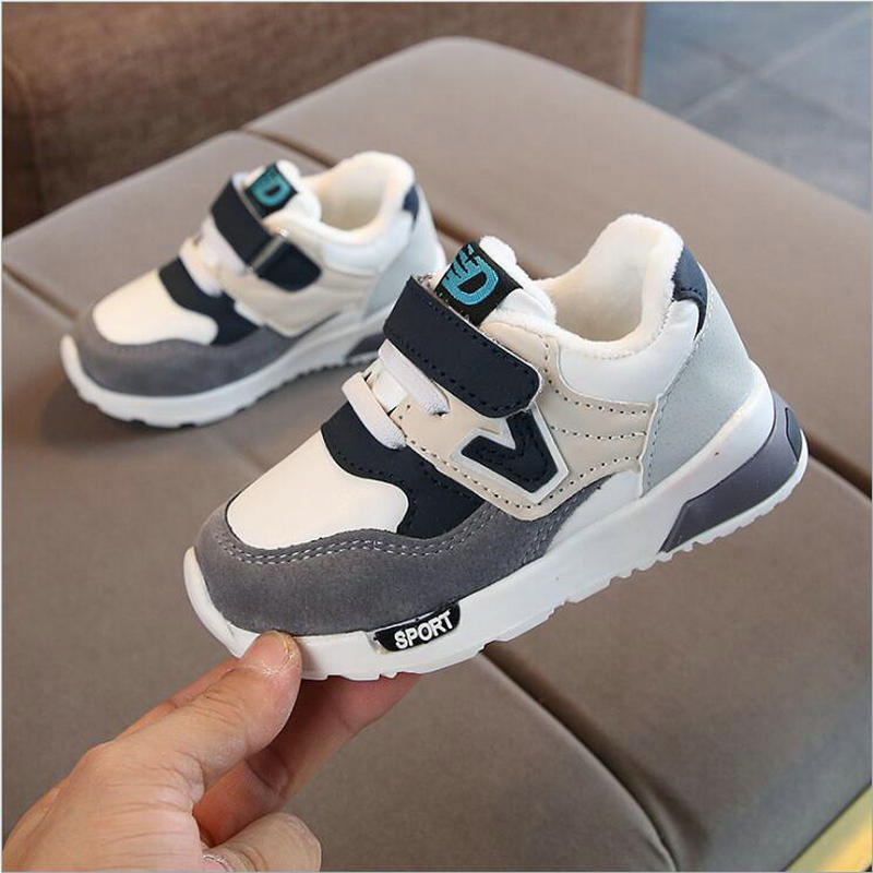 Children Sport Shoes New Autumn Winter Fashion Breathable Kids Casual Shoes Girls Boys Anti-Slippery Sneakers Baby Toddler Shoes
