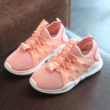 2018 Children Casual Baby Boy Shoes Sneakers Leisure sports running shoes for girls chaussure enfant kids shoes Prewalkers Bebes(China)