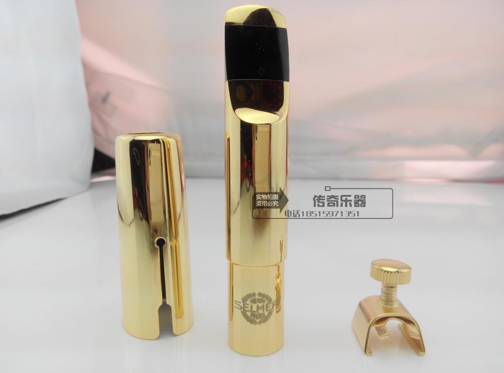 Selmer / Tenor Alto Sax Metal Mouthpiece gold-plated metal mouthpiece линейный массив alto sxa28p