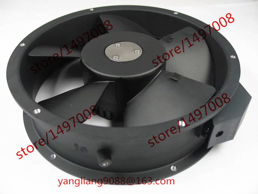 Emacro KA2206HA2, KA 2206HA2 DC 220V  0.18/0.25A 2-Pin Server Round  fan free shipping emacro arx fs1250 a1042a dc 12v 0 19a 2 wire 2 pin connector 70mm server round cooling fan