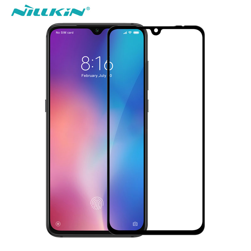 For Xiaomi Mi 9 Glass Nillkin CP+ 2.5D Screen Protector Full Glue Tempered Glass For Xiaomi Mi 9 SE Mi9 Lite 9T Pro-in Phone Screen Protectors from Cellphones & Telecommunications on