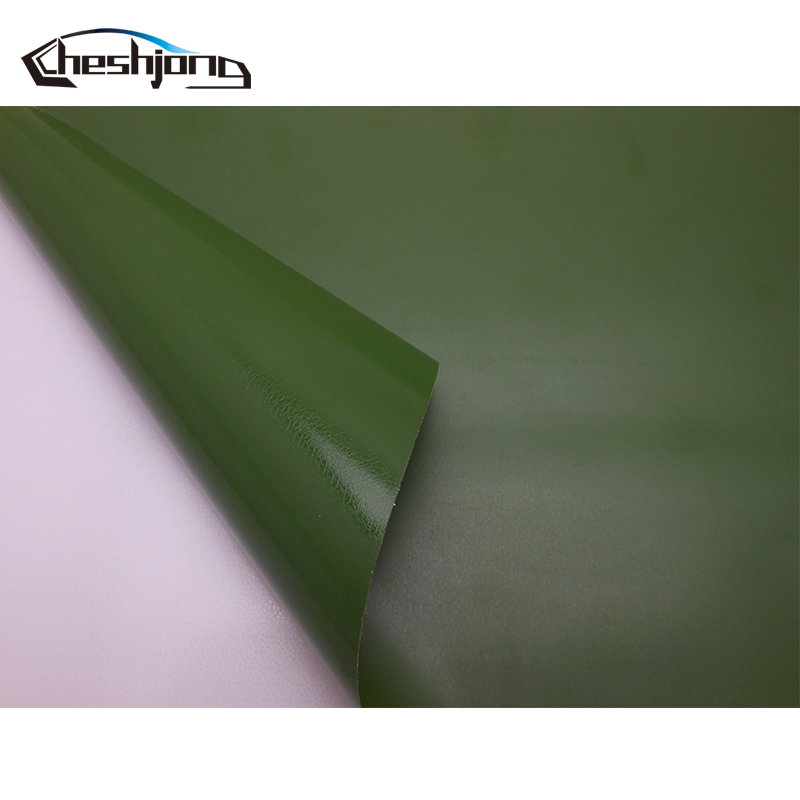 lowest price Adhesive Matte Vinyl Film Car Wrap Matt Army Green Scooter Motorcycle PVC Decal Roll