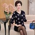 Новый 2016 осенью и зимой с капюшоном cat pattern с длинными рукавами купить непосредственно от китай женщины кашемир свитер вязаный кардиган