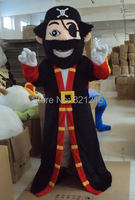 Professinal Pirate Captain Mascot Costume Fancy Dress Adult Size for Halloween party event
