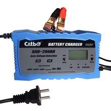 Catbo автомобиля Батарея Зарядное устройство 12V24V V Мотоциклетные батареи чистый Медь Полный Интеллектуальный универсальный Зарядное устройство