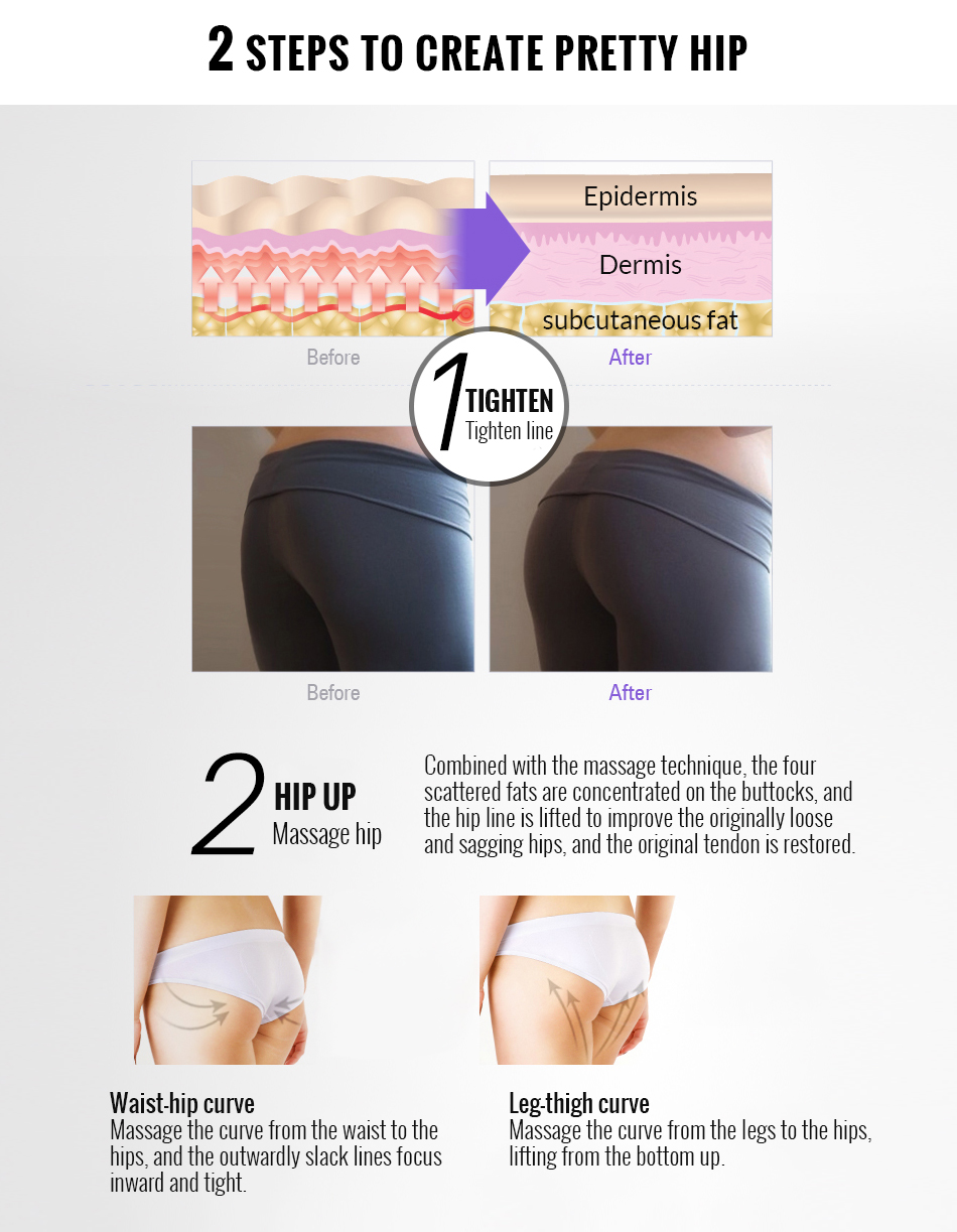 OMY LADY Butt Enhancement Cream Effective Hip Lift Up Butt Lift Bigger Buttock Cream Buttocks Enlargement Body Care Cream 100g