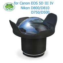 Seafrogs 6 inch Dry Dome Port for Meikon SeaFrogs DSLR Housings V.2 40M 130FT Underwater Camera Fisheye Canon Nikon Case