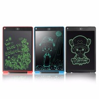 AMZDEAL 12 LCD Writing Tablet Digital Drawing Grafic Handwriting Pads Children Drawing Board Note Board With