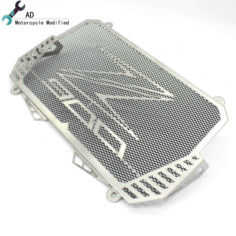 Motorcycle Radiator Grille Guard Cover stainless steel For KAWASAKI Z900 Z 900 2017 Motor Oil Water Cooler Protector ! arashi motorcycle radiator grille protective cover grill guard protector for 2008 2009 2010 2011 honda cbr1000rr cbr 1000 rr