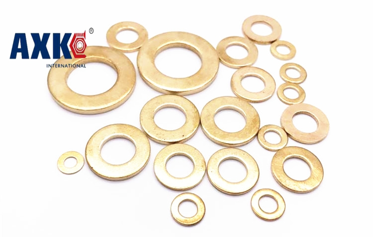 5-100pcs/lot 1/1.5/2mm thickness M5/M6/M8/M10/M12/M14/M16/M18/M20/M22/M24/M27-M48 purple brass flat washer copper washers AXK m10 m12 m10 14 0 5 m10x14x0 5 m12 16 0 5 m12x16x0 5 id od thickness 2 304 stainless steel ss din125 washers plain plat washer