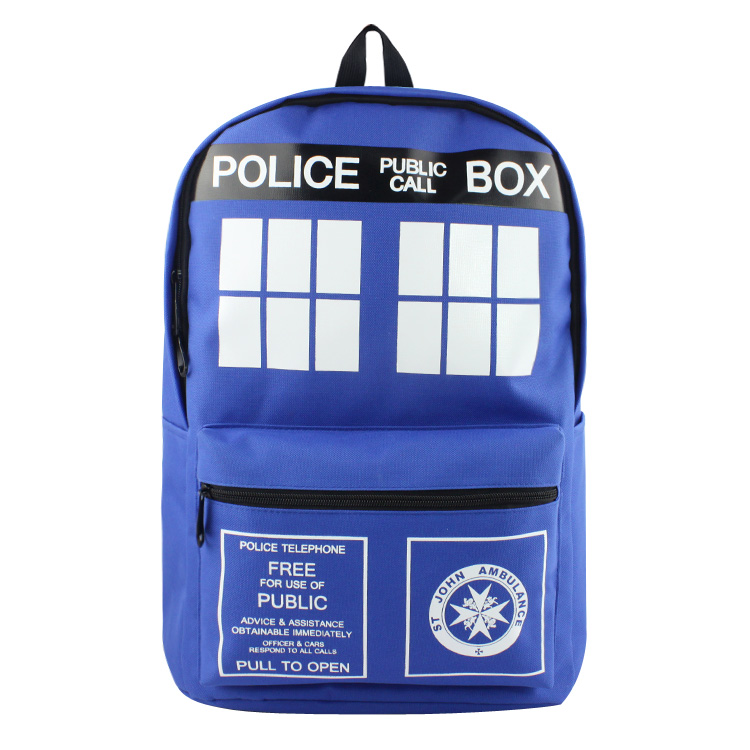 Doctor Who Backpack For Teenagers Boys Girls School Bags Women Men Daily Backpack Children School Backpacks Kids Bag