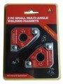 Multi-ángulo Mini Imán De Soldadura/Pinza Magnética para Sujetar con Twin Pack