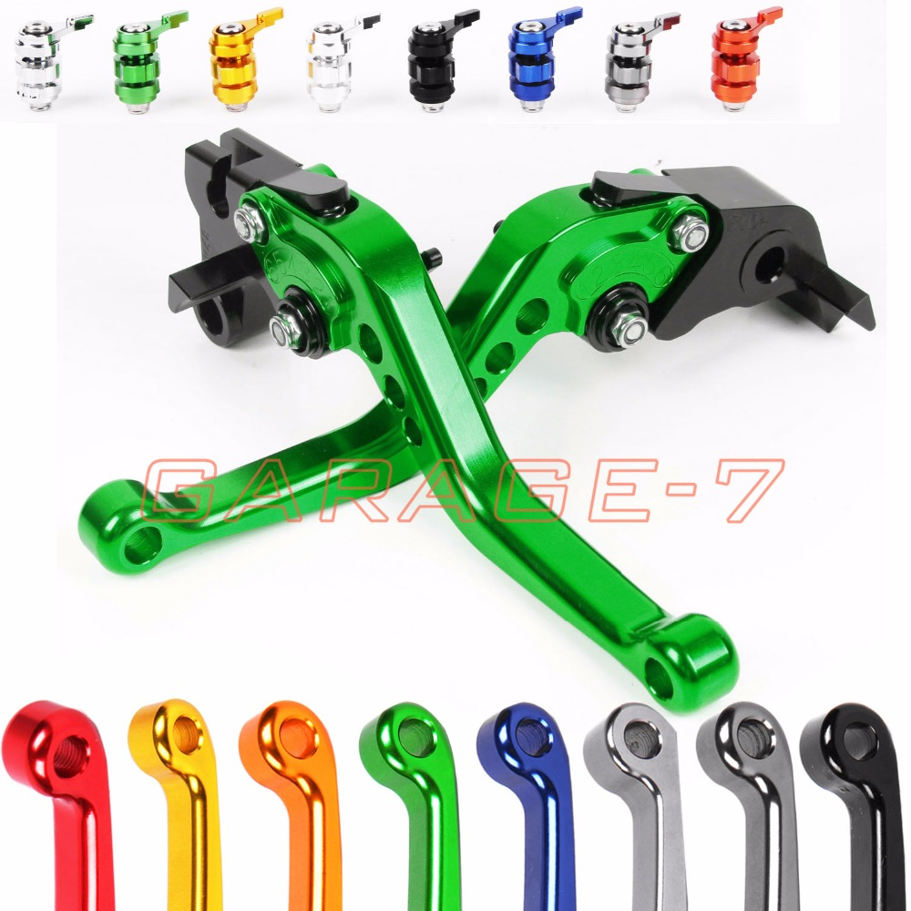 10 Colors For Kawasaki ZZR/ZX1400 SE Version 2016-2017 CNC Motorcycle Short/Long Lever Hot Sale High-quality Clutch Brake Levers